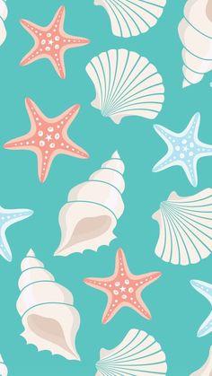 Mermaid Wallpaper Iphone, Mermaid Wallpapers, Cute Wallpaper For Phone, Summer Wallpaper, Cute Patterns Wallpaper, Computer Wallpaper, Mobile Wallpaper, Cute Wallpaper Backgrounds, Cute Wallpapers
