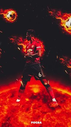 Most Latest Manchester United Wallpapers Android Paul Pogba Manchester United, Manchester United Gifts, Manchester United Players, Neymar Football, Messi Soccer, Best Football Players, Soccer Players, Fullhd Wallpapers, Wallpapers Android