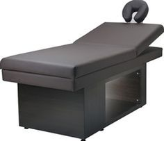 MURADE Facial and Massage Table, Day Spa furniture, aesthetician equipment, esthetician facial beds, chairs, tables, skin care treatment tables, acne, wrinkles, sun damage, resorts, beauty salon spas, healthy skin, quality design equipment for spas