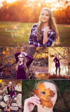 Courtney Jackson Photography // Marietta, Ohio photographer // high school senior photography // fall senior session // senior session // natural light photography