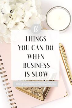 Is your business in a slow period? Here's what to do when business is slow and how you can keep the momentum going in the meantime. Business Help, Online Business, Email Providers, Creating A Brand, Online Work, Business Branding, Make Money Blogging, Blog Tips, Social Media Tips