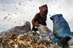garbage dump in Phom Penh by Maciej Dakowicz Creative Photography, Street Photography, Royalty Free Pictures, Slums, Documentary Photography, Pencil Art, Cambodia, Travel Photos, Documentaries