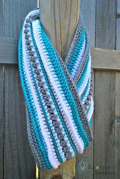 Ravelry: Making Tracks Infinity Scarf pattern by Amber Schaaf (scheduled via http://www.tailwindapp.com?ref=scheduled_pin&post=209897)