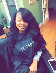 Side part sew in hair laid for the gawwds pinterest sew ins 7 main reasons for using human hair wigs pmusecretfo Gallery