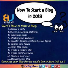 681cb74d3a9 Do you want start your Here are the steps to. BDigitaU · Digital Marketing.  See more