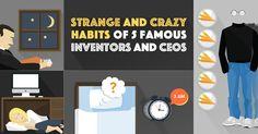 #Habits #Inventors and CEOs #Inventions #Entrepreneurs