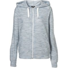 3292aadaae34 Fleck Hoody (€43) ❤ liked on Polyvore featuring tops, hoodies, jackets,  sweaters, outerwear, sweatshirts, women, sweatshirt hoodies, hooded hoodie  and zip ...