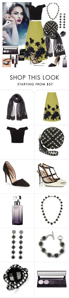 """Sophisticated Elegance"" by denibrad ❤ liked on Polyvore featuring Giorgio Armani, Coast, Rebecca Minkoff, French Connection, Valentino, Calvin Klein, Konstantino, Kevin Jewelers and Clé de Peau Beauté"