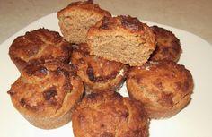 Muffins με ταχίνι και μέλι (νηστίσιμα)