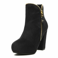 Chic Black Ankle Boots