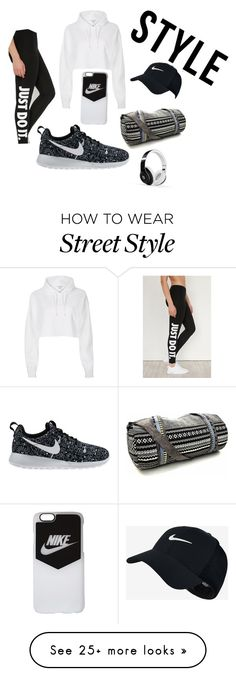 """Street STYLE"" by darby01 on Polyvore featuring NIKE, River Island and Beats by Dr. Dre"