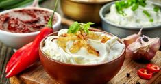 Party Time: Four Delicious Dips For Veggies, Chips Dip Recipes, Sauce Recipes, Gluten Free Recipes, Cooking Recipes, Chips, Pretty Cakes, Finger Foods, Tapas, Food Processor Recipes