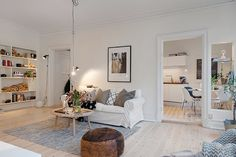 A beautiful, classic Swedish apartment