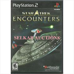 Star Trek: Encounters by 4J Studios PlayStation 2 Video Game disc PS2 NTSC Used 093155120501 on eBid Canada