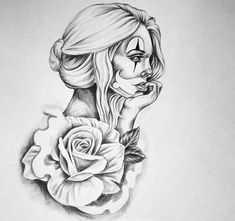 Face Tattoos, Body Art Tattoos, Girl Tattoos, Tattoos For Women, Sleeve Tattoos, Chicano Tattoos, Chicano Art, Graffiti Tattoo, Tattoo Sketches