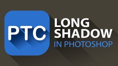 Tutorial that will take you through the process of creating the long shadow effect. This could be done on a logo or text. You will also learn how Smart Objects can help you in the creation of assets for mobile applications. #Photoshop