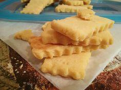 Gluténmentes, laktózmentes házi sós keksz, snack, kréker RECEPT - Pink Dust blog