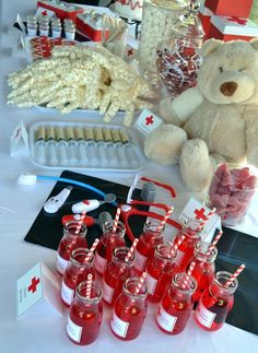 Doctor & Nurse Hospital Party Eats & Treats Table