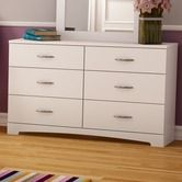 Found it at Wayfair - Step One 6 Drawer Double Dresser  $171 and free shipping. In Black