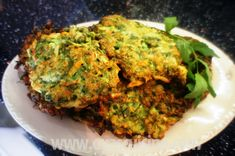 Oya's Cuisine - Zucchini Patties