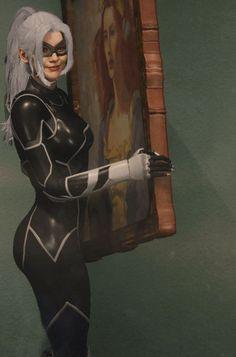 Something Marvel? Spiderman Black Cat, Black Cat Marvel, Amazing Spiderman, Marvel Comics, Hq Marvel, Marvel Heroes, Marvel Women, Marvel Girls, Comics Girls