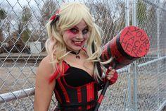 Harley Quinn Cosplay   darkholmecosplay