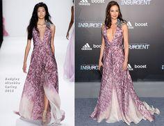 Ashley Judd In Badgley Mischka - 'Insurgent' New York Premiere