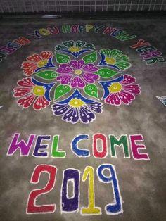 Rangoli Source by mannemlavanya Indian Rangoli Designs, Rangoli Designs Latest, Rangoli Designs Flower, Rangoli Border Designs, Rangoli Designs With Dots, Rangoli Designs Images, Beautiful Rangoli Designs, Rangoli Colours, Rangoli Patterns