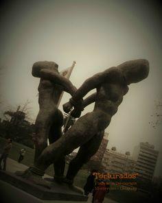 """""""Torturados"""" Autor: Rubens Fernández Tudurí Monumento emplazado en la ciudad de Montevideo/Uruguay Montevideo, Lion Sculpture, Greek, Statue, Figurative Art, Uruguay, City, Sculpture, Author"""