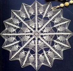 Photo from album Crochet Art, Love Crochet, Irish Crochet, Beautiful Crochet, Crochet Placemat Patterns, Crochet Tablecloth, Lace Patterns, Lace Doilies, Crochet Doilies