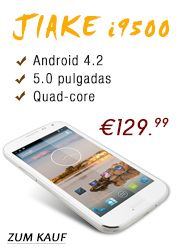 2013 Jiake i9500 1.2GHz Quad-Core-Android 4.2 5,0-Zoll-Multi-Touch-kapazitiven Bildschirm  Artikelnummer: MHT9500 Marke: Android 4.2 http://www.germanyou.com/goods-8738.html Jetzt:  €129.99