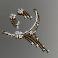 Diamond Pendants (Tanmaniya), Heere Ke Pendant, डायमंड पेंडेंट्स in Karol Bagh, New Delhi , Kapeesh Chains Diamond Necklace Set, Diamond Jewelry, Gold Jewelry, Men's Jewellery, Designer Jewellery, Gold Necklace, Gold Pendent, Pendant Set, Diamond Pendant