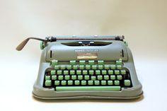 lulu | yesteryear redeemed: Vintage Hermes 3000 portable typewriter..1963...SOLD