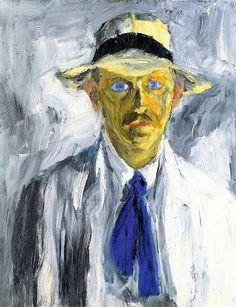 Self-Portrait Emile Nolde (1917)