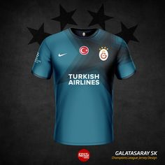 Galatasaray Home, Away and Third Kits by Emre Baykal - Footy Headlines Sport Shirt Design, Sport T Shirt, Volleyball Jerseys, Rugby, Team Wear, Basketball Uniforms, Football Kits, Sports Logo, Sport Outfits