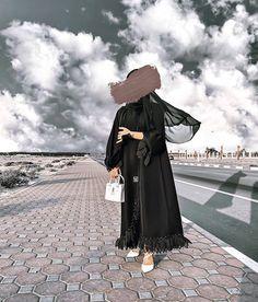 Modest Fashion Hijab, Casual Hijab Outfit, Cute Casual Outfits, Fashion Outfits, Burqa Designs, Abaya Designs, Mode Abaya, Mode Hijab, Arab Fashion