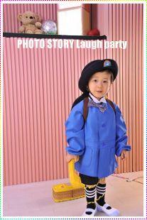 札幌のカワイイ写真入園写真撮影、オシャレカッコイイ卒園写真、個性的写真、☆人気子供写真館&フォトスタジオなら江別のフォトストーリーラフパーティー*ファッションカタログモデルの様にカラフルポップに撮影!!年賀状用データ!*