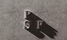 Logo design, Portland Stone Firms, Isle of Portland, England.