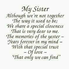 ~MY SISTER~