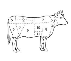 Die Fleischteile vom Rind | Frisch Gekocht Wiener Schnitzel, Top 10 Desserts, Grill Dessert, Porterhouse Steak, Low Carb, Filet Mignon