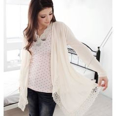lace cardigan - Google Search