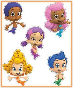 Bubble Guppies Puppets