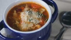 Watch Veggie-Packed Minestrone Soup Recipe in the EatingWell Video