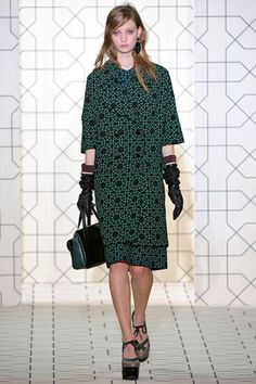 THAT green Marni coat. #lifeinstyle #greenwithenvy