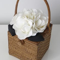 Bosom Buddy Charleston Bouquet Bag, would use in bedroom, not as a handbag