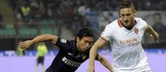 Totti in un recente Inter-Roma