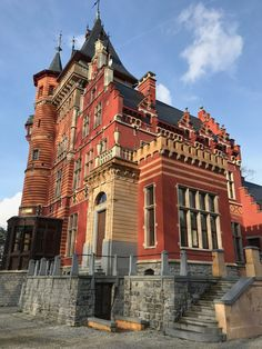 Manor Houses, Brussels, Belgium, Palace, Exterior, Mansions, Architecture, House Styles, Castles