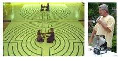 The Reflection Labyrinth. The idea of mirrors and labyrinths has not been explored well yet.