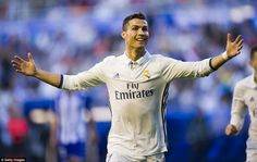 Alaves 1-4 Real Madrid Cristiano Ronaldo
