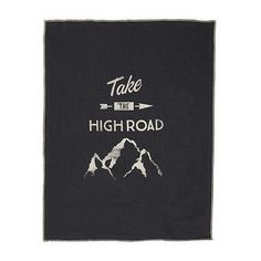 High Road Tea Towel // Mid Char - Pony Rider // ANTLER and MOSS